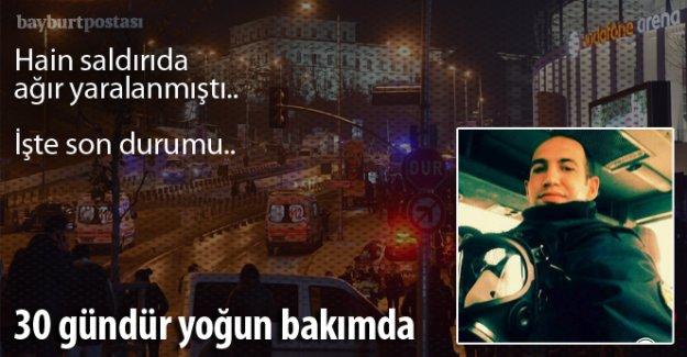 Yaralı Polis Muammer Ateş 30 gündür yoğun bakımda
