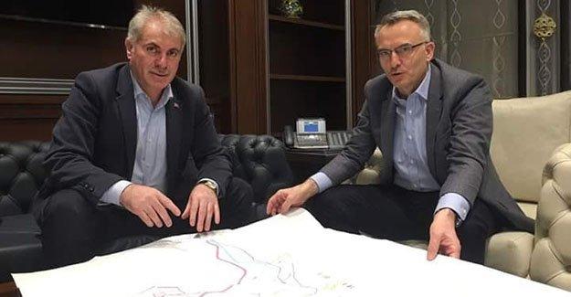Başkan Memiş'ten Bakanı Ağbal'a ziyaret