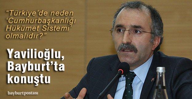 """""""Türkiye'nin darbe anayasasını değiştirmek gibi bir sorunu var"""""""