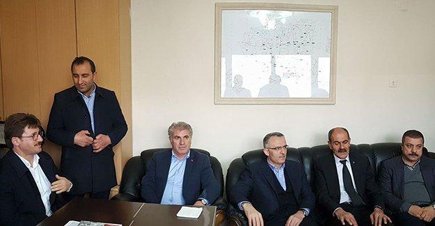 Ağbal'dan MHP Bayburt teşkilatına ziyaret