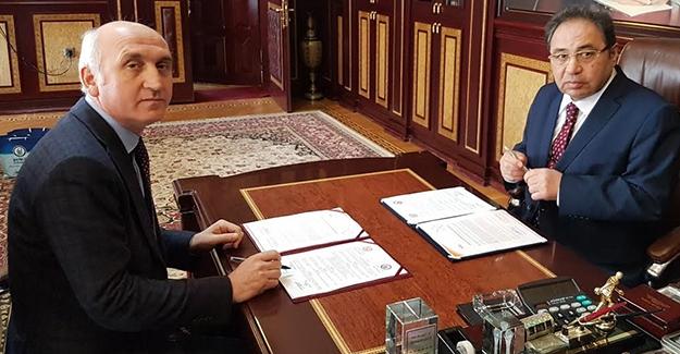 Bakü'de Akademik İşbirliği Anlaşması imzalandı