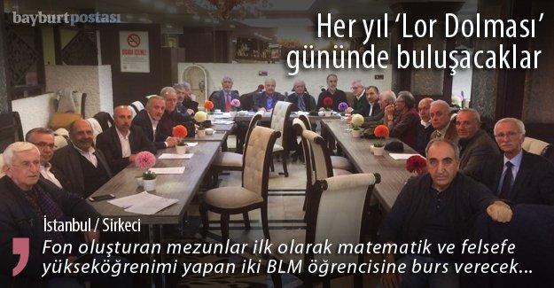 Bayburt Lisesi mezunları İstanbul'da buluştu
