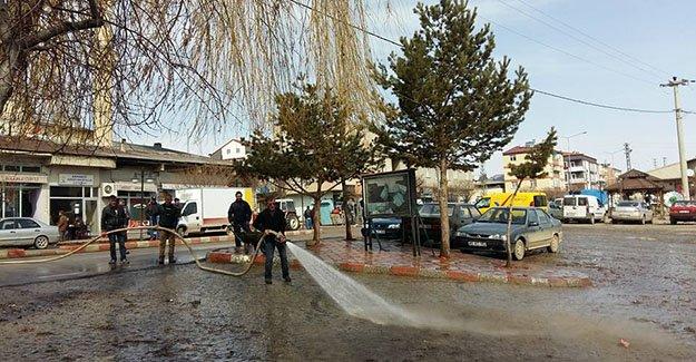 Demirözü Belediyesi'nden bahar temizliği