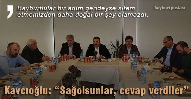 """Kavcıoğlu: """"Başvuru sayısı 43, önemli sayıda Bayburtlu işadamı var"""""""
