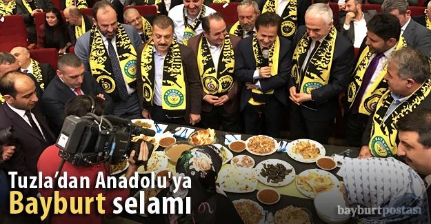 Tuzla'dan Anadolu'ya Bayburt selamı