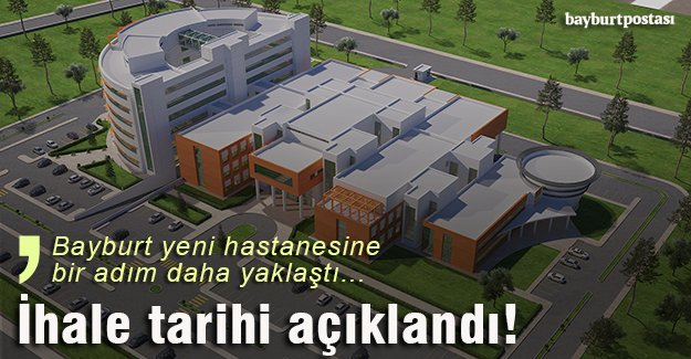Yeni hastanenin ihalesi 2 Mayıs'ta