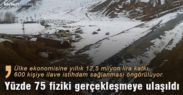 Akşar Barajı 19 bin 310 dekar alanı sulayacak