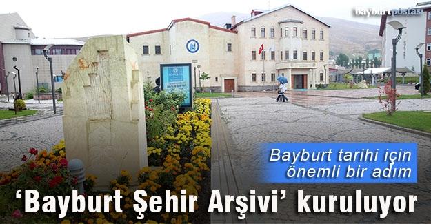 Bayburt Üniversitesi bünyesinde şehir arşivi kuruluyor
