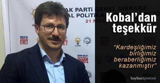 Kobal'dan 'rekor' teşekkürü
