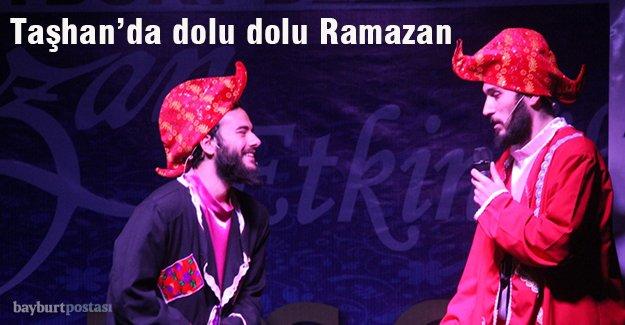Bayburt'ta dolu dolu Ramazan