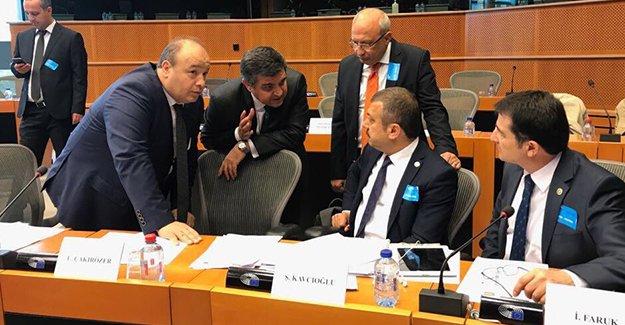 Milletvekili Kavcıoğlu, Belçika'da