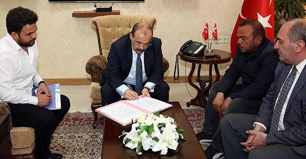 'Tatbikat Camisi' protokolü imzalandı