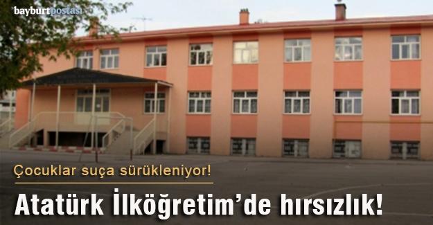 Atatürk İlköğretim'de hırsılık vakası!