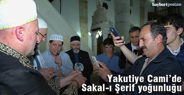 Bayburt'ta Sakal-ı Şerif yoğunluğu