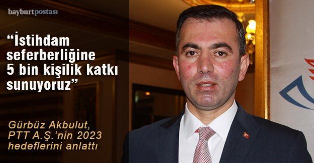 """""""İstihdam seferberliği""""ne PTT'den 5 bin kişilik katkı"""