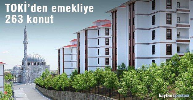 Şingah Mahallesi'nde emekliye 263 konut inşa edilecek