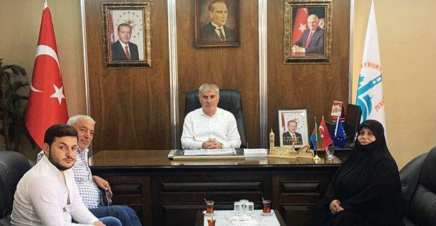 '15 Temmuz'un sembol isminden Başkan Memiş'e ziyaret