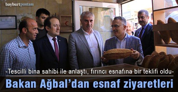Bakan Ağbal, tescilli bina sahibiyle anlaştı