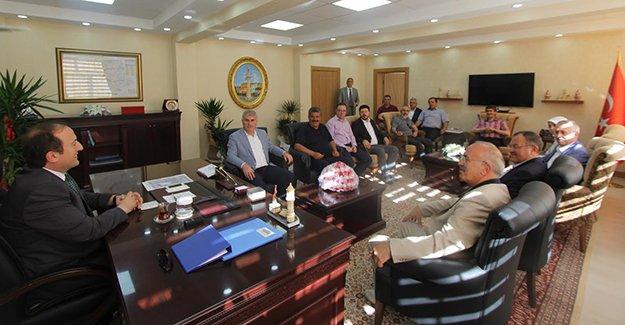 Başkan Memiş'ten Pehlivan'a ziyaret