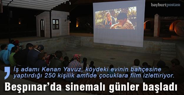 Sineması olmayan kentte çocukları sinemayla buluşturdu