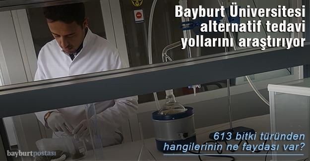 Bayburt Üniversitesi alternatif tedavi yollarını araştırıyor