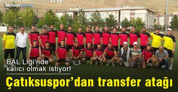 Çatıksuspor'dan transfer atağı