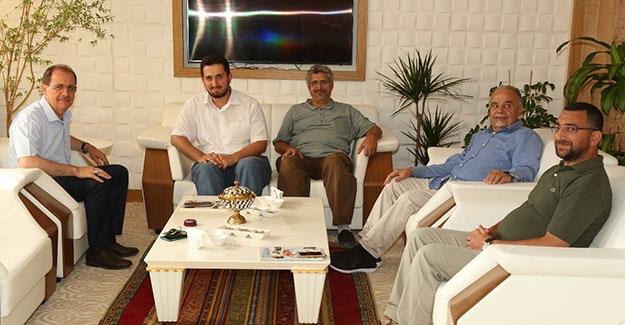 Suudi iş adamları Bayburt Üniversitesi'nde
