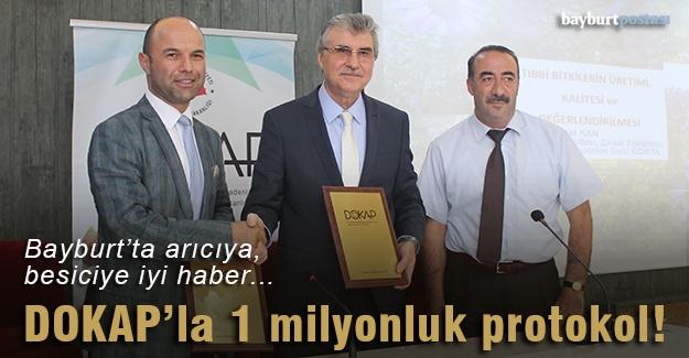 Tarım'da DOKAP'la 1 milyonluk protokol