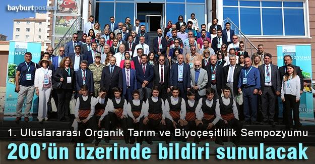 """""""1. Uluslararası Organik Tarım ve Biyoçeşitlilik Sempozyumu"""""""