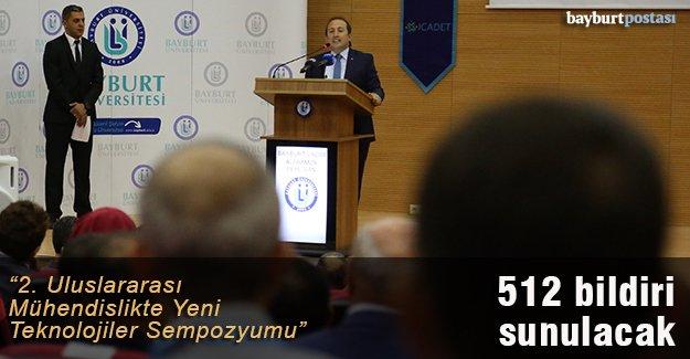 """""""2. Uluslararası Mühendislikte Yeni Teknolojiler Sempozyumu"""""""