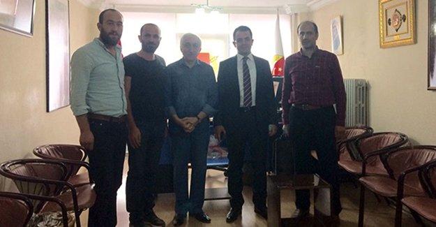Başsavcı Tiryaki'den Gazeteciler Cemiyetine ziyaret