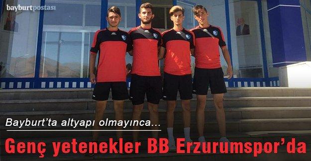 Bayburt'un genç yetenekleri BB Erzurumspor'da