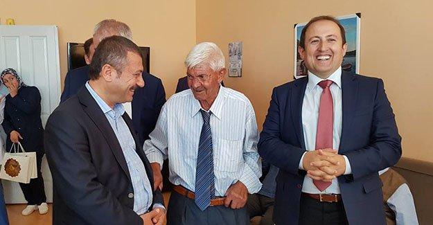 Vali Pehlivan ve Milletvekili Kavcıoğlu'ndan huzurevi ziyareti