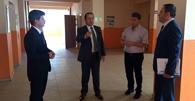 Vali Pehlivan, yeni eğitim öğretim yılı hazırlıklarını denetledi