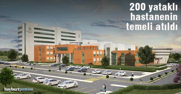 Yeni hastanenin temeli atıldı