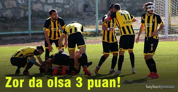 Bayburt Grup, Bergama'yı tek golle geçti