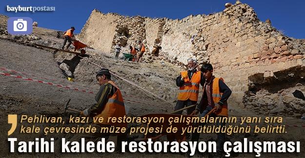 Bayburt Kalesi restore ediliyor