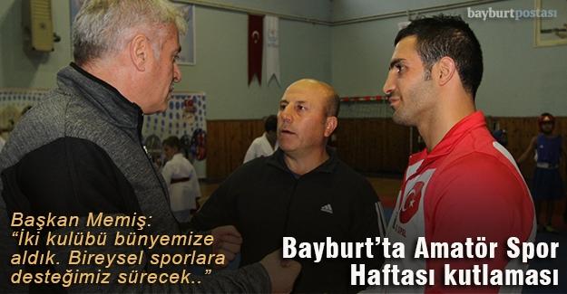 Bayburt'ta Amatör Spor Haftası kutlaması