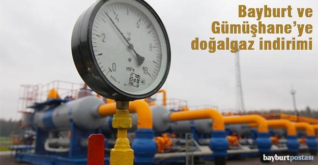 Bayburt ve Gümüşhane'de doğalgaza indirim