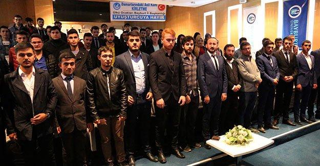 Ülkü Ocaklarından 'Uyuşturucu ile Mücadele' konferansı
