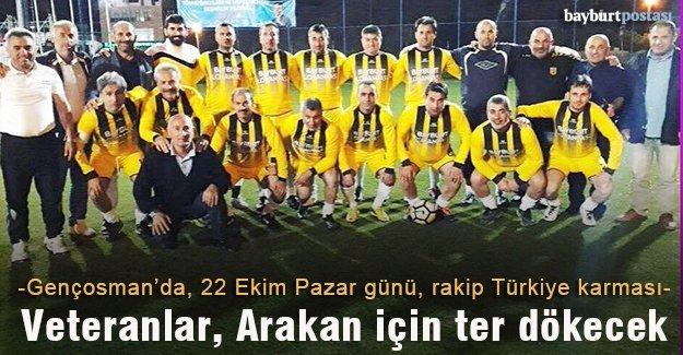 Veteran futbolcular Arakanlı Müslümanlar için sahaya çıkacak