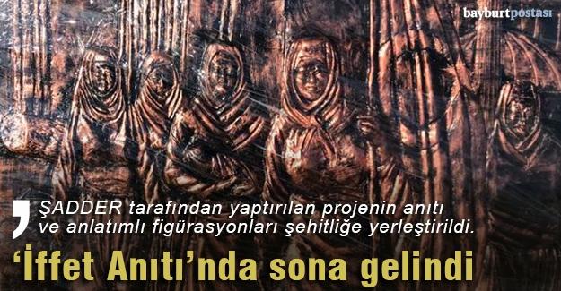 Yukarı Kırzı Şehit Kadınlar Anıtı'nda sona gelindi