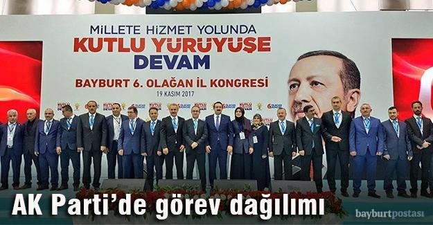 AK Parti İl Başkanlığı'nda İl Yürütme Kurulu belli oldu