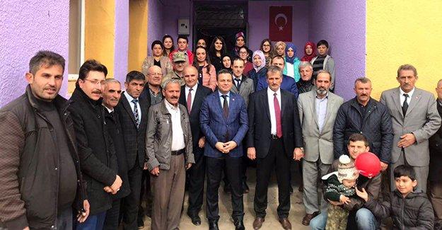 'Çatıksu Köyü Kültür Evi' dualarla açıldı