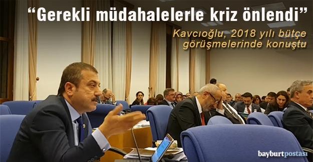 Kavcıoğlu, Plan ve Bütçe Komisyonunda konuştu