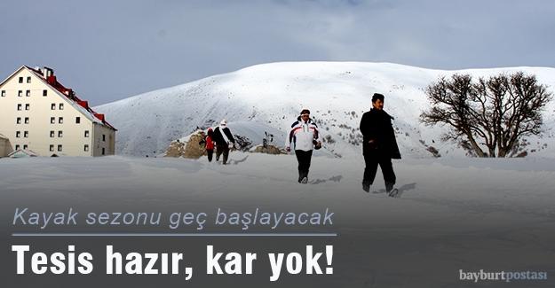 Kop Dağı Kayak Merkezi sezona hazır