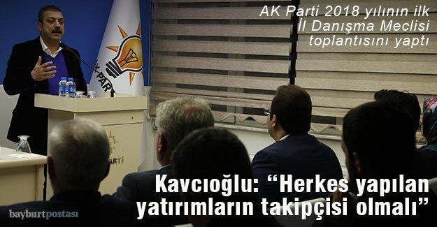 AK Parti Bayburt İl Danışma Meclis Toplantısı yapıldı