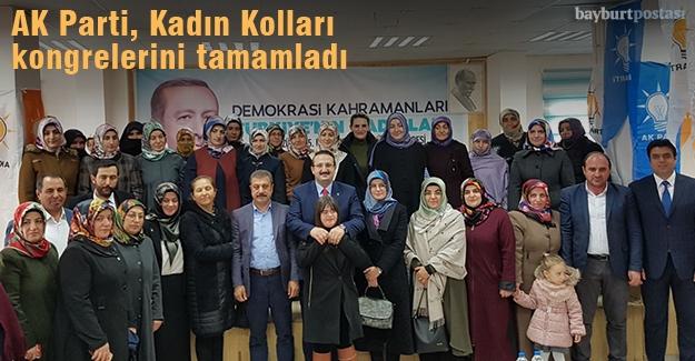 AK Parti ilçe kadın kolları kongrelerini yaptı