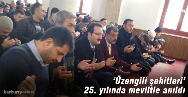 AK Parti 'Üzengili Şehitleri'ni mevlitle andı