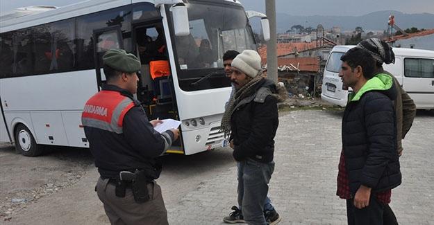 Bayburt'ta 10 yabancı uyruklu yakalandı